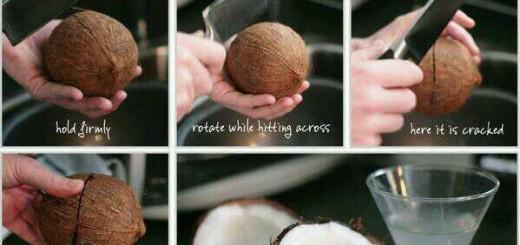 cum spargi nuca de cocos