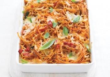 spaghete la cuptor