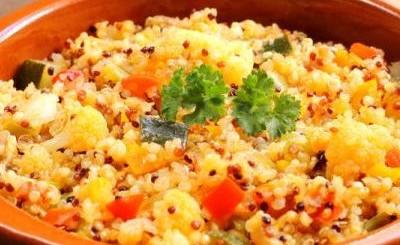 salata calda quinoa legume