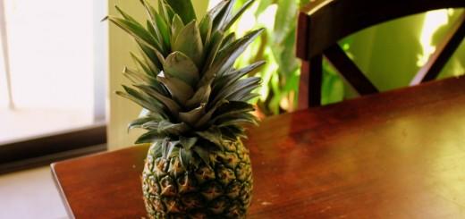 cum cureti ananas