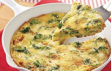 frittata broccoli feta