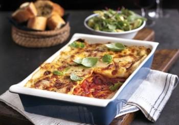 lasagna branza bacon