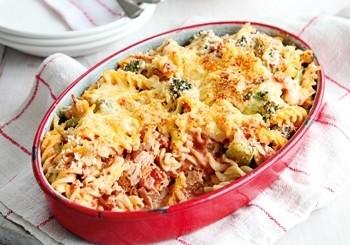 Paste cu ton si broccoli la cuptor