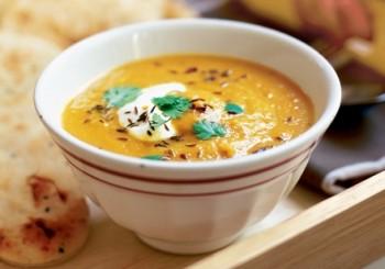 supa morcovi linte