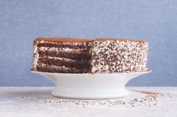 Tort tiramisu cu ciocolata si Marsala
