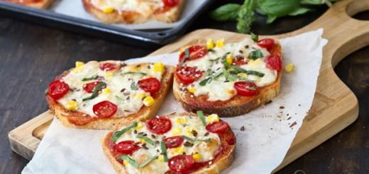 pizza cu paine