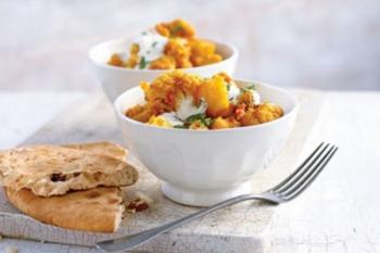 Curry de conopida cu cartofi