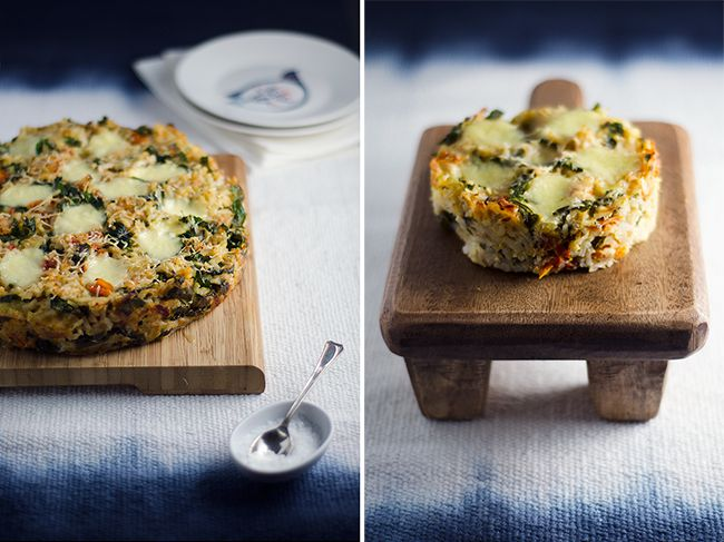 Placinta cu risotto si ton