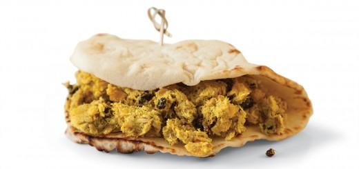 Sandvis cu ton si curry