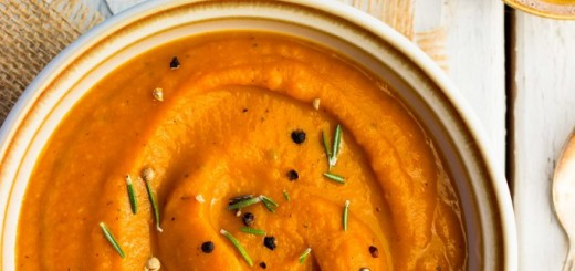 Supa crema din radacinoase coapte
