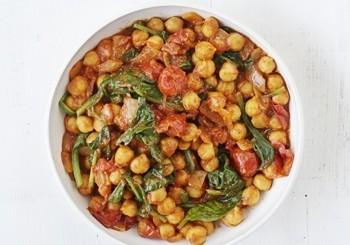 curry de spanac si naut