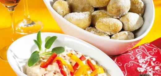 cartofi cu sos de paprika