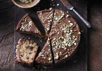 tort de ciocolata si pere
