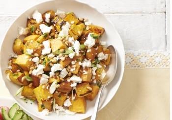 salata de cartofi dulci si feta