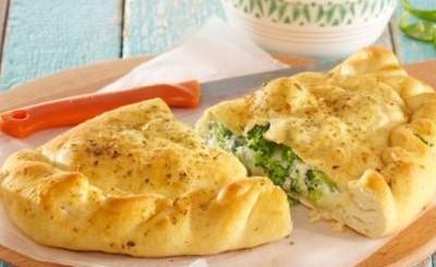 Calzone cu broccoli