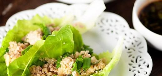 Rulouri de salata verde cu pui