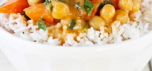 Curry de naut in 20 de minute