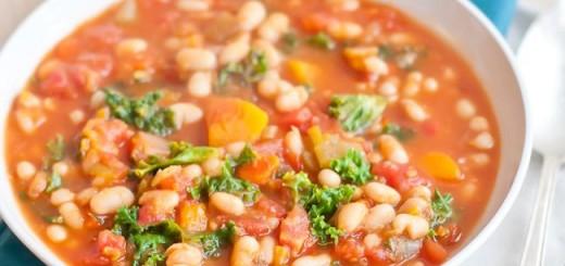 Supa de legume si fasole alba