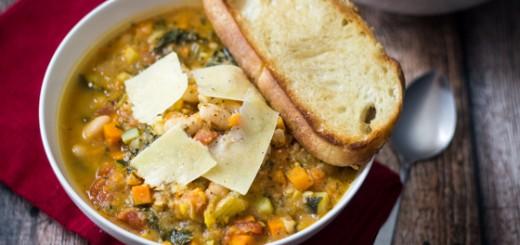 Supa toscana cu fasole