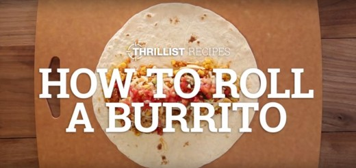 Cum impachetezi un burrito