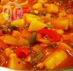 Curry rapid de legume