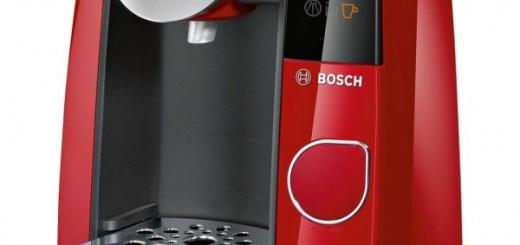Espressor automat Bosch Tassimo Joy TAS4503, 1300 W, 1.4 l, Filtru Brita, T-discuri, Rosu